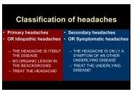 no organic - neurology presentations