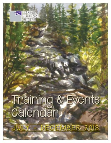 Training & Events Calendar - Harbor Regional Center