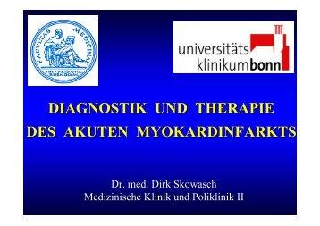 diagnostik und therapie des akuten myokardinfarkts - Medizinische ...