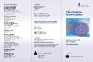 1. Westdeutscher Pneumologentag - Medizinische Klinik und ...