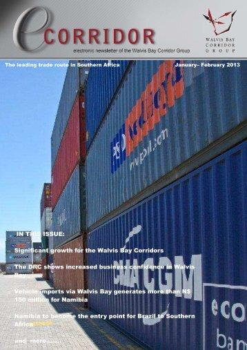 January - February 2013 Newsletter - Walvis Bay Corridor Group
