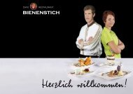Cafe Restaurant Bienenstich Speisekarte