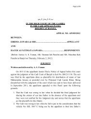 IN THE HIGH COURT OF THE GAMBIA IN THE CADI APPEALS ...
