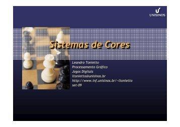 Sistemas de Cores - Unisinos