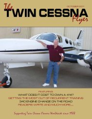The Flyer - Twin Cessna Flyer