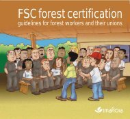 FSC forest certification - BWI