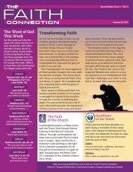 February 28 - Malone Catholic Parishes