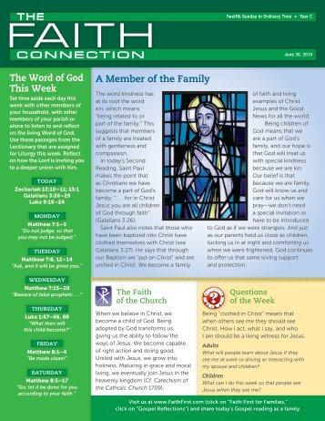 June 20 - Malone Catholic Parishes
