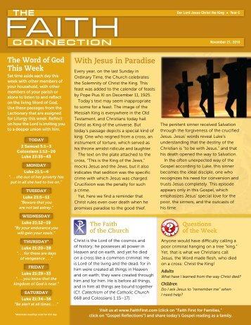 November 21 - Malone Catholic Parishes