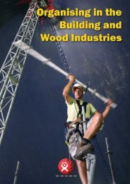 Organising in the Building and Wood Industries - BWI