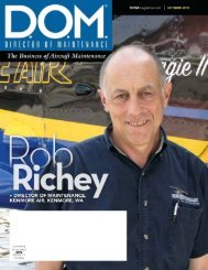 Director of Maintenance Magazine article - Component Control