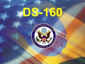 DS-160 - Embaixada dos Estados Unidos no Brasil