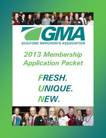 2013 New Member Application Packet - Greensboro Merchants ...