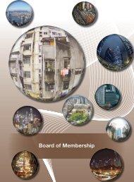 Board of Membership - Hong Kong Institute of Surveyors