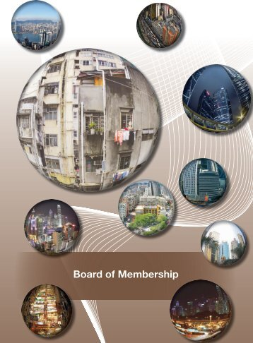 Board of Membership - Hong Kong Institute of Surveyors