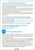 Brosura Intrerupere sarcina prin tratament medicamentos - Page 5