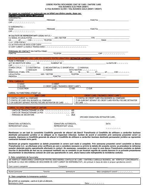 Cerere de refinantare credit online bt