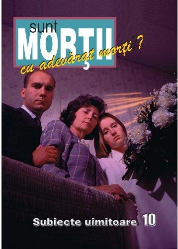 Sunt mortii cu adevarat morti - 1mvbooks