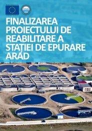Finalizarea proiectului de reabilitare a staţiei de epurare Arad