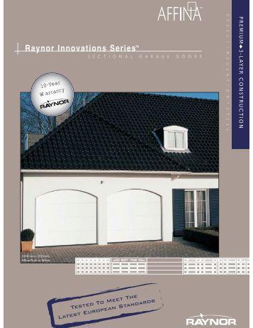 Affina - Raynor Garage Doors