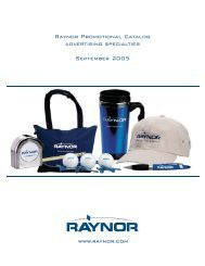 2900302-Promo Adv Spec 09-05.qxp - Raynor Garage Doors