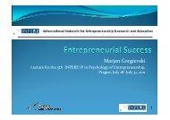 IP Entrepreneurial success