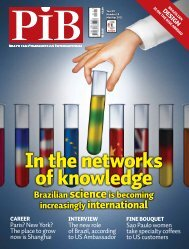In the networks of knowledge - Revista PIB