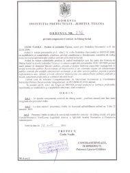 3. Ordinul NR 236 privind componenta Comisiei de Dialog Social