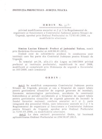 12. Ordinul nr 412 privind modificarea anexelor nr.2 si 3 la ...