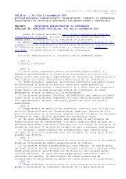 ORDIN nr. 1.501 din 13 noiembrie 2006 privind procedura ...