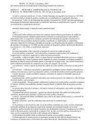 ORDIN Nr. 268 din 8 decembrie 2010 privind procedura de ...