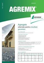 Fisa tehnica AGREMIX - Lafarge