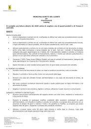 CONTRATTO DI LOCAZIONE FINANZIARIA(LEASING) DI VEICOLI ...