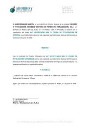 C/ Alcalá, 18-3º 28014 Madrid Tel: 91 531 13 87 ... - BME Renta Fija