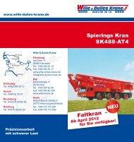 Spierings Kran SK488-AT4 - Wille & Dulies Krane GmbH