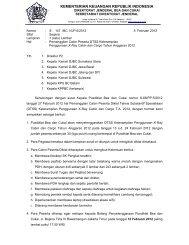 kementerian keuangan republik indonesia - Direktorat Jenderal Bea ...