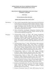 peraturan direktur jenderal bea dan cukai nomor p- 53 /bc/2010 ...