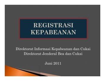 Importir - Direktorat Jenderal Bea dan Cukai