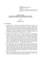 pedoman umum pelaksanaan pemantauan pengendalian intern
