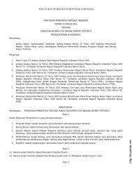 peraturan pemerintah nomor 35 tahun 2005