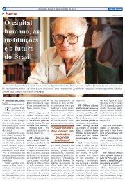 O capital humano, as instituições e o futuro do Brasil - pdf - Instituto ...