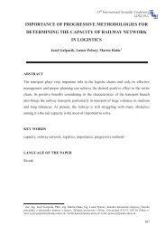 Bez názvu-3 - LOGI - Scientific Journal on Transport and Logistics