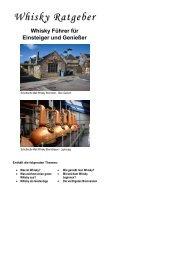 Whisky Führer für Einsteiger und Genießer