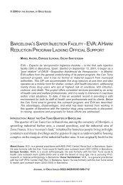 eva - Journal of Drug Issues