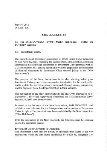 Circular letter to tax representatives block extension ird may 16 2011 0042011 dc circular letter to bmfbovespa thecheapjerseys Image collections