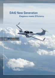 DA42 New Generation - Shoreline Aviation