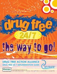 implementAtion guiDe - Drug-Free Action Alliance
