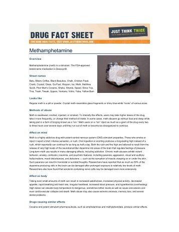 Methamphetamine - Drug-Free Action Alliance