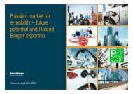 Russian market for e-mobility – future potential and Roland Berger ...