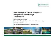 Das Asklepios Future Hospital – Beispiel für nachhaltige Telemedizin